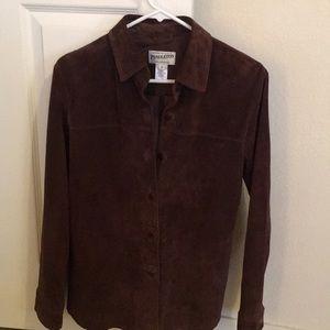 Pendleton Suede Shirt